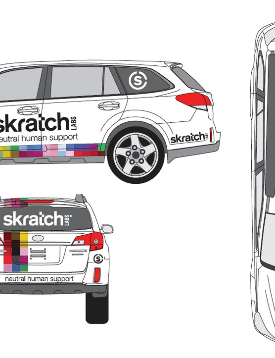 Skratch will have a car and a motorcycle in the race caravan, dispensing drinks and snacks to riders throughout the race