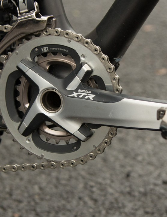 Shimano XTR provides the 38/24 gearing - we expect to see Neff switch to 11-speed shortly