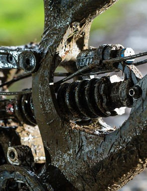 The Fox Van RC shock is specially tuned and is a good performer. If you want to change shocks, you'll need to contact Specialized to get the correct yoke for your new shock