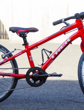 Even without the mods, the Trek Superfly 20in kids bike is still a step above most