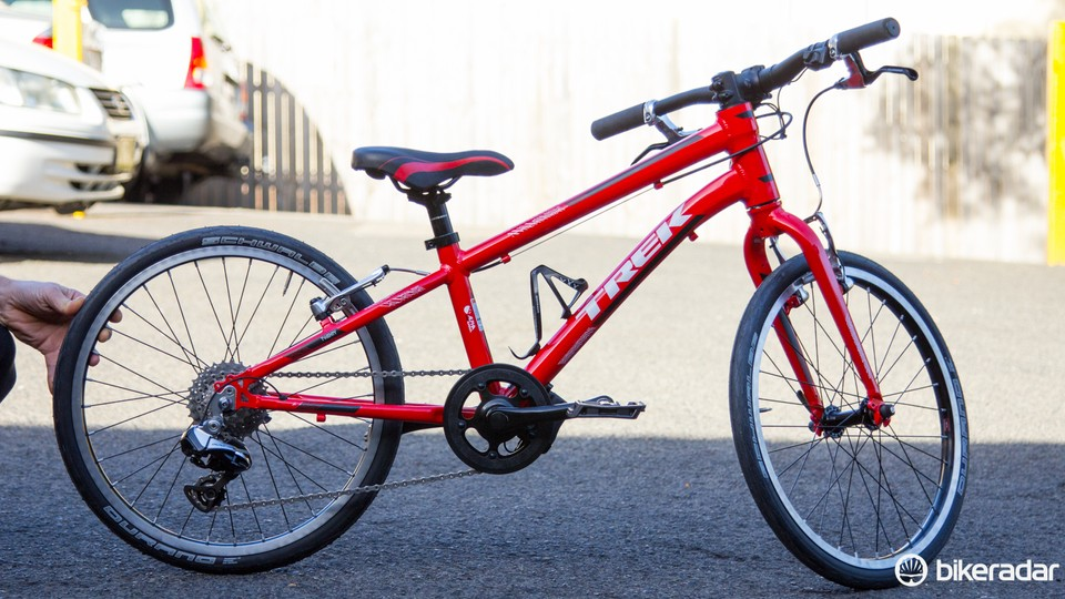 Trek Superfly 20in Kids Bike With Di2 Upgrade Bikeradar