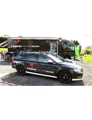 Another set of Skoda Octavias, this time for Trek Factory Racing