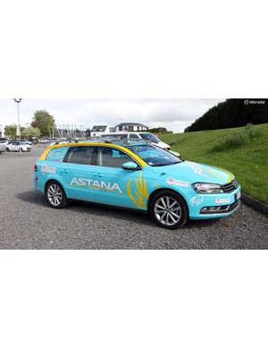 Volkswagens for the Astana team
