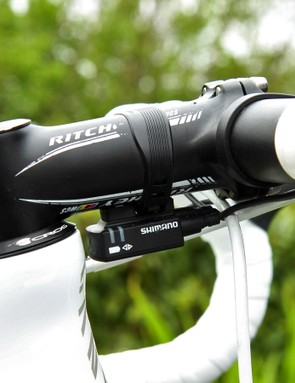 'Purito' uses a 100mm-long Ritchey WCS 4-Axis stem