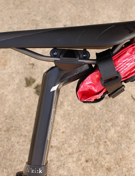 The Saddle Hopper makes a svelte saddle bag