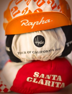 Rapha limited-edition cycling caps: One for each stage of the Amgen Tour of California