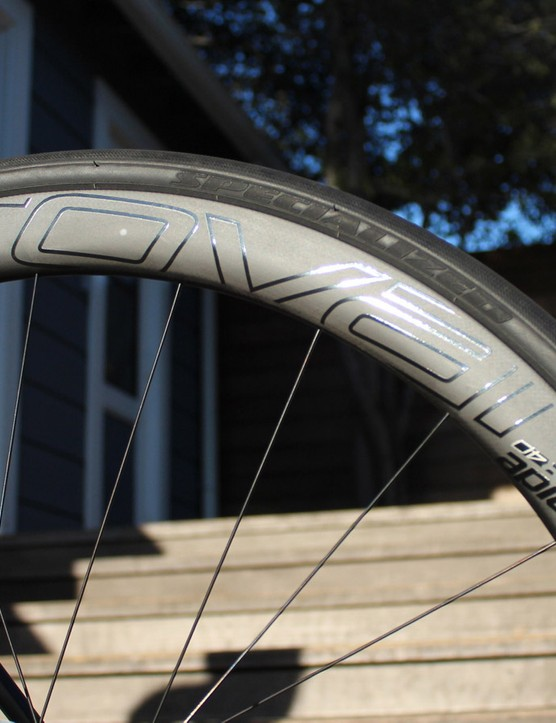 All Specialized Tarmac bikes come with Specialized's Roval wheels