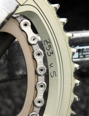The outer chainring is already in its fifth revision, which suggests that it might be nearing an official release
