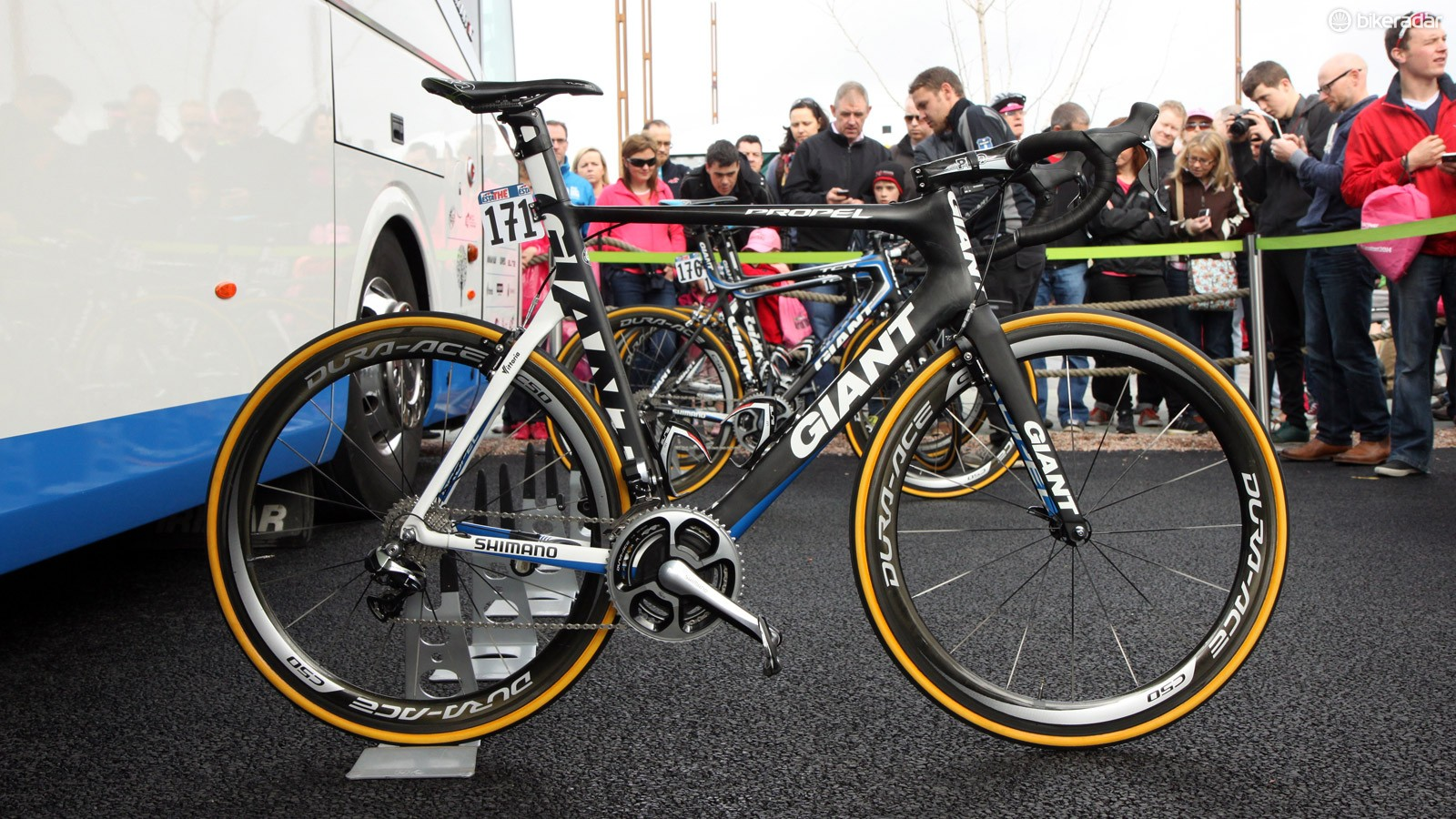 Marcel Kittel (Giant-Shimano) is hoping for a few more stage wins aboard his trusty Giant Propel Advanced