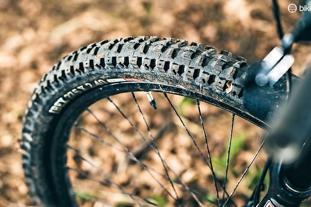 Onza Ibex 650x2.4 tyre – ideal for gravity lovers