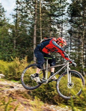Vibration damping from the bars and fore-aft flutter from the fork saves your hands from too much punishment
