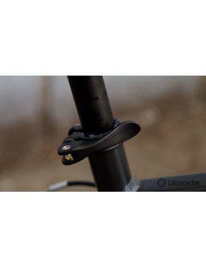 With just two sizes available, there is little chance you'll get a precise fit. However the quick-release seat post means you just set your seat height and go