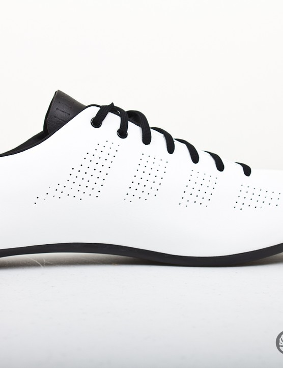 The perforations in the upper enable your feet to breathe