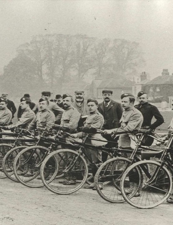 A cyclists' Battalion from World War One