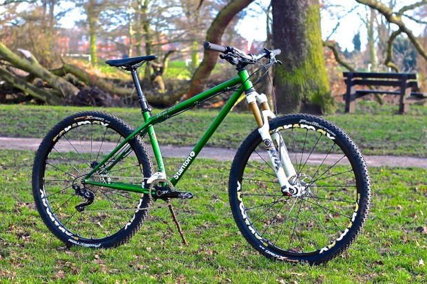 The Sherpa 853 frame is the latest addition to an extensive lineup of hardtails from UK company Stanton