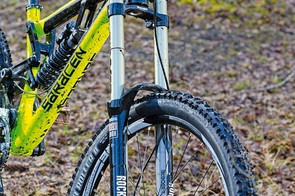 Pushed hard among Spanish rocks, the Boxxer RC fork betrayed a few inconsistencies
