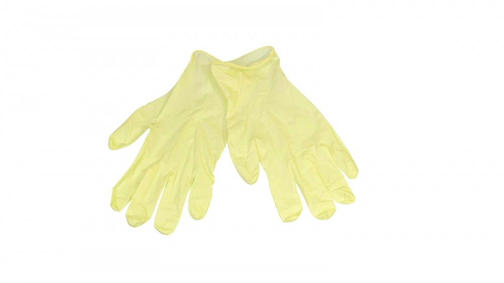 Latex gloves will make repairs less messy