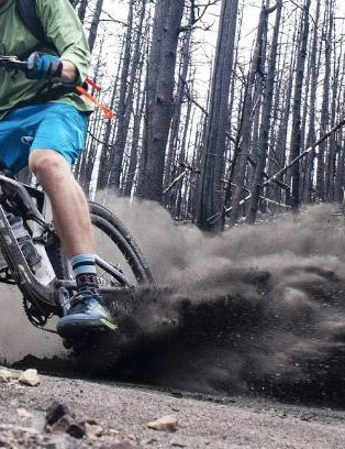 The best reason to ride flats