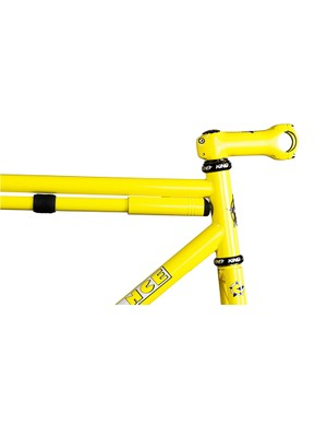 A color-matched pump and stem are available