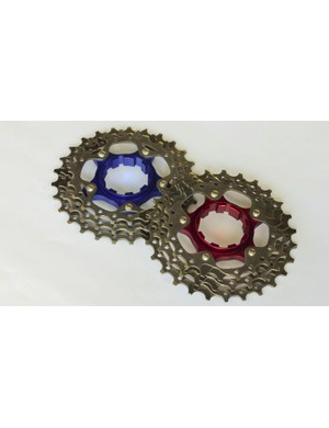 Gevenalle is also offering Ti cog upgrade kits that take the place of the three largest cogs on Shimano 5700, 6700 and 6800 series cassettes to shave weight