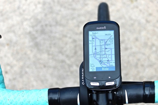 The Garmin Edge 1000 combines the navigation features of the Touring model with the training capabilities of the Edge 810