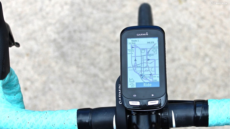 a81a78807 The Garmin Edge 1000 combines the navigation features of the Touring model  with the training capabilities