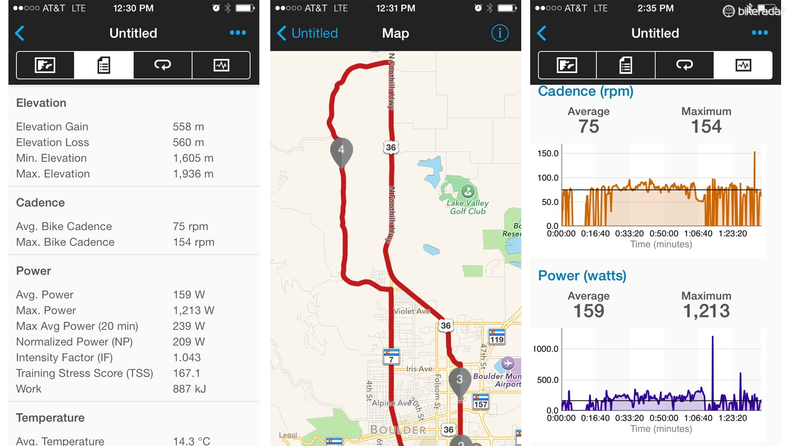 Garmin has recently improved its Garmin Connect software, shown here in the mobile version. Although it is neither as social as Strava, nor as analytical as TrainingPeaks, it is clearly trying to be a bit of both