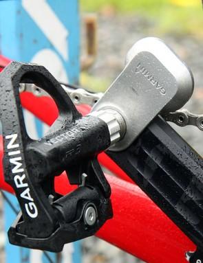 The Garmin-Sharp team is finally using Garmin Vector power meter pedals after a long development delay