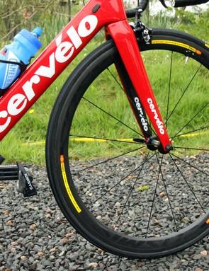 Garmin-Sharp uses any number of different Mavic wheels
