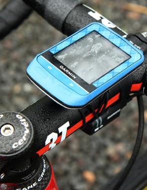 Sadly, this Garmin Edge 510 computer won't record any more road miles at this year's Giro d'Italia