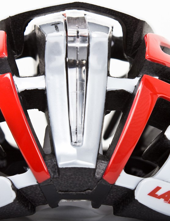 A rear view of the Lazer Z1 helmet