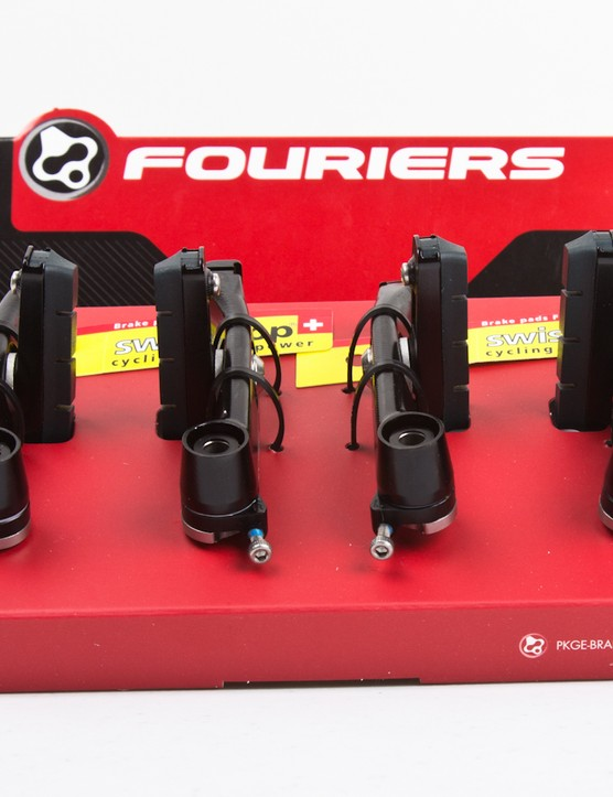 The brakes are sold as a front and rear pair, including pads and mounting hardware