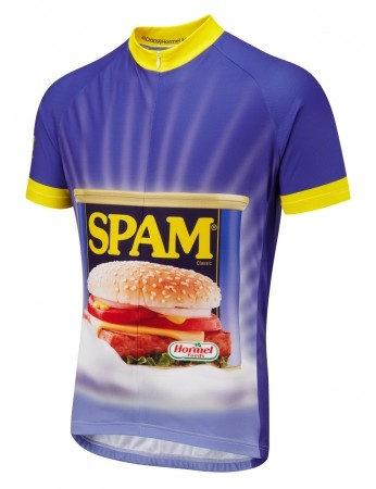 Spam on a jersey