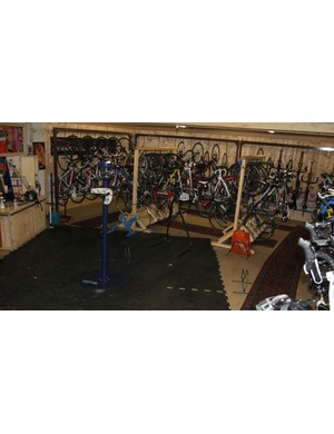 All Italy Bike Hotels have a safe place to store and work on bikes, if not an on-duty mechanic to assist you