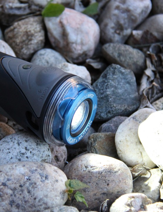The Light & Motion GoBe is designed for cycling, hiking and even SCUBA diving