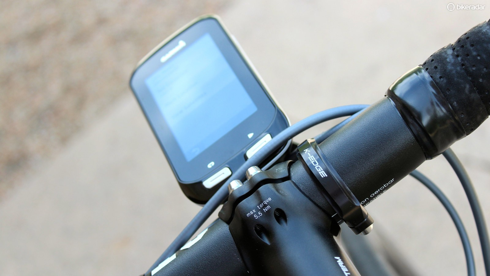While its works with any Garmin computer, the K-Edge Garmin Pro Handlebar Mount XL was designed specifically for the Garmin Edge 1000