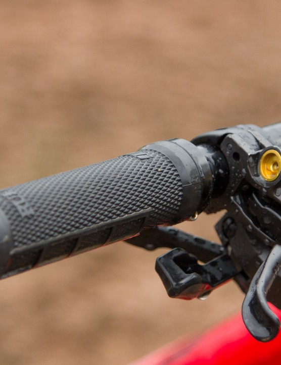 Ever-popular ODI supplies its Ruffian MX lock-on grips