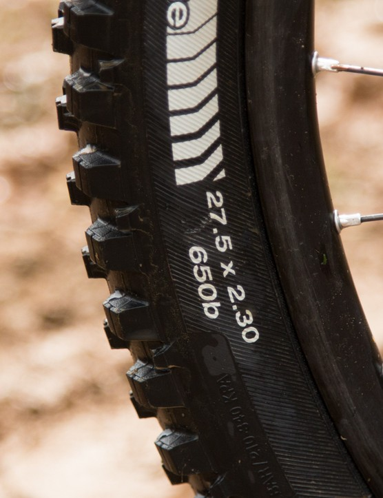 Expect a new range of race-worthy 650b rubber from Bontrager soon
