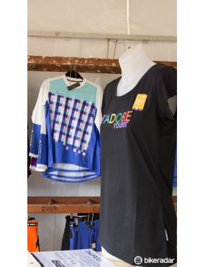 The DHaRCO 'Tech Tee' in the foreground is made with 'drirelease' fabric, making this one high performing technical garment