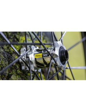 Mavic claims it has made small, but significant weight savings to its hubs