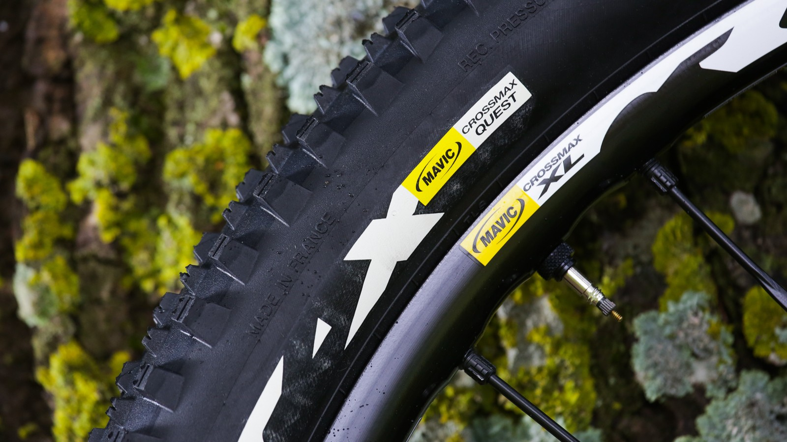 The Crossmax Quest tire is UST tubeless-ready