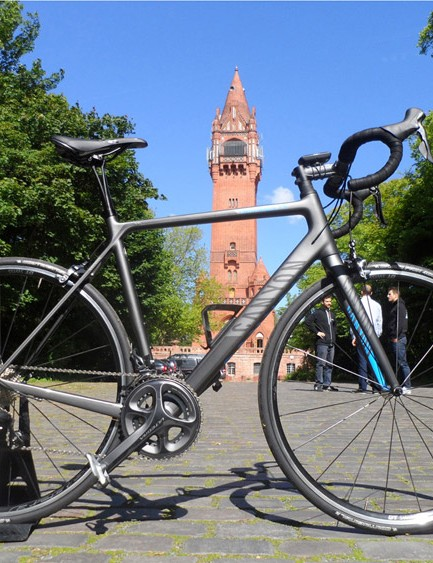 We got to test ride the Ultegra spec Endurace, which will go on sale for £1,699