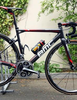 Cadel Evans (BMC) is hoping for Giro d'Italia glory aboard BMC's revamped TeamMachine SLR01