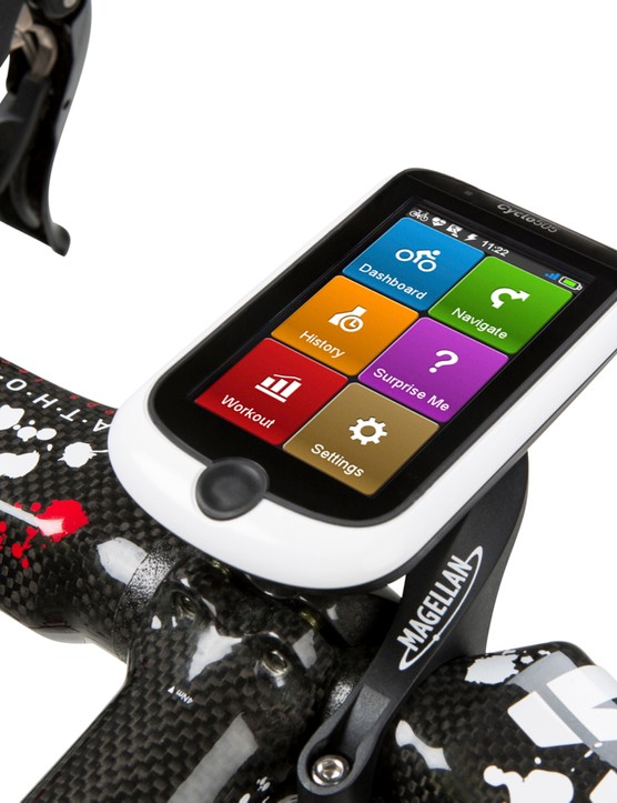 Magellan's Cyclo 505 comes preloaded with maps
