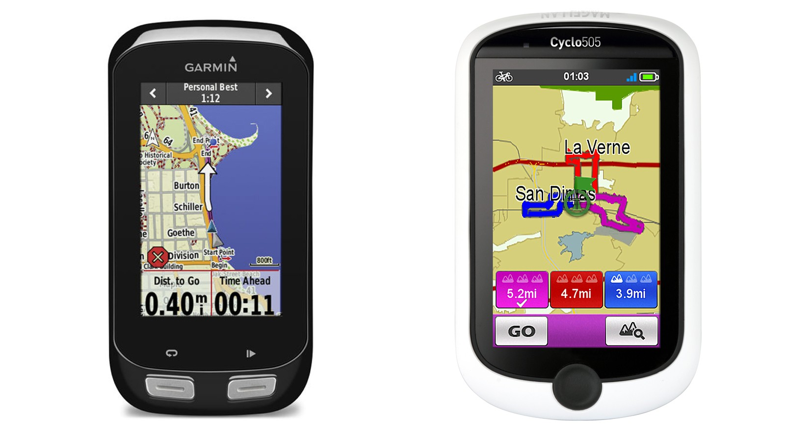 Competition between two GPS companies —and not just cycling companies selling GPS computers —should benefit cyclists in the long run