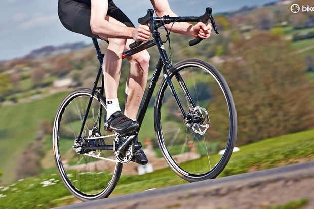 The Genesis Day One's eight-speed gearing copes will with inclines, within reason