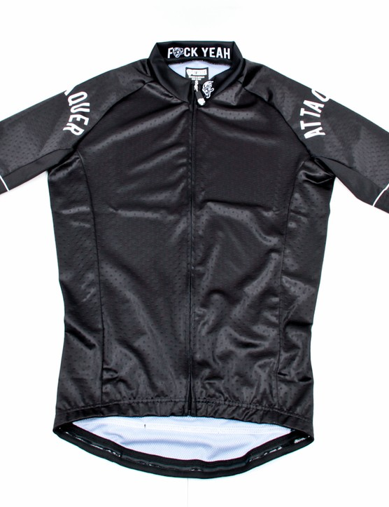Attaquer's Normcore jersey's are a far-cry from the wild designs for which they are known