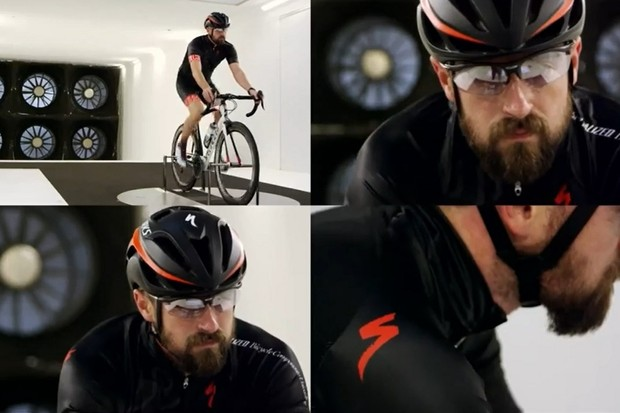 Beards: they make absolutely no difference to riding aerodynamic performance