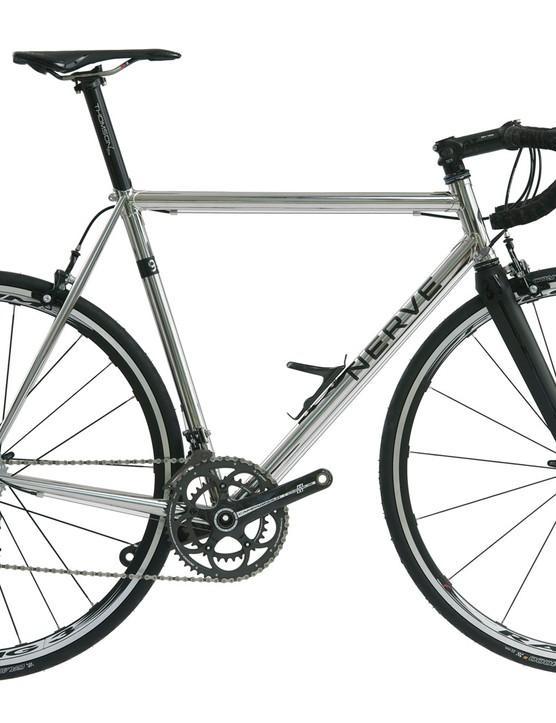 Classic 953 stainless steel features on Nerve's debut road machine