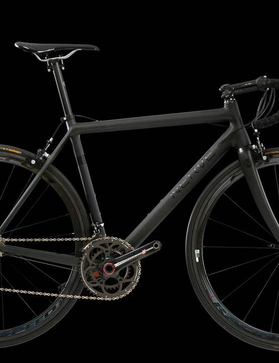 The Nerve 600sl carbon frame weighs less than 700g, it is claimed